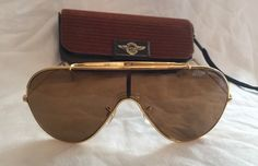 Vintage Aviator Wings (Ray Ban)  Lens by Bausch&Lomb USANEVER Worn #Aviator