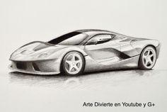 Cómo dibujar un Ferrari - Cómo dibujar un carro #arte #dibujo #ArteDivierte #Ferrari #artistleonardo #carro #LeonardoPereznieto #tutorial Haz clíck aquí para ver mi libro: http://www.artistleonardo.com/#!ebooks/cwpc