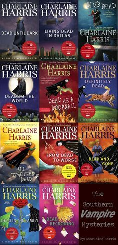 Various books from Charlain Harris