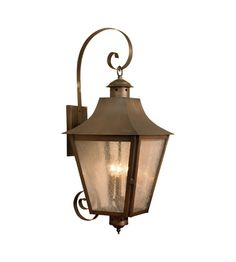 ELK 4147 ORB Cummings 3 Light 30 Inch Oiled Rubbed Brass Outdoor Wall Sconce