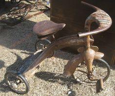flea market finds,the dreirad