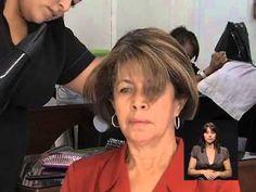 Peinados para señoras/ cortes para señores  con poco pelo