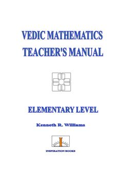 vedic maths learning and teaching ebook pdf and video tutorial rh pinterest com Vedic Astrology Chart Vedic Astrology Chart