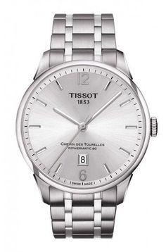 Tissot Chemin Des Tourelles Men's Automatic White Dial with Stainless Steel Bracelet