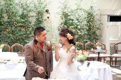 新郎新婦様からのメール 妹へ リストランテASOさまへ : 一会 ウエディングの花