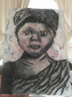 African girl done in charcoal African Girl, Artworks, Charcoal, Portrait, Tattoos, Tatuajes, Headshot Photography, Tattoo, Portrait Paintings