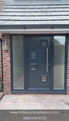 Check out this abstract beauty! Design, price and order your bespoke door online instantly! Timber Composite Doors are the UKs Supplier and installer! All Doors come with Finance available Contemporary Front Doors, Modern Contemporary, Doors Online, Composite Door, French Grey, Duck Egg Blue, Door Design, Bespoke, Finance