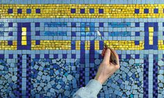 Mosaic Ideas, Home, Shower, Haus, Homes, Houses, At Home