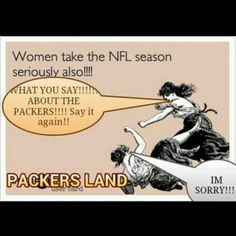 I'm sure I have almost choked someone out over a bad comment on the Packers lol.not really but close Packers Funny, Packers Games, Packers Baby, Go Packers, Green Bay Packers, Nfl Football Teams, Packers Football, Football Memes, Football Art