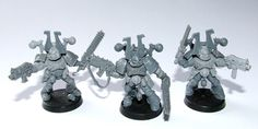 KHORNE WORLD EATERS CHAOS SPACE MARINES - by WADE'S WORKSHOP