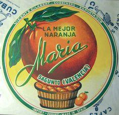 La mejor naranja;María.