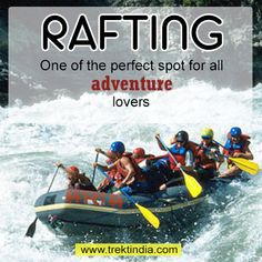 Rishikesh is one of the perfect spots for all adventure lovers. Rafting in Rishikesh is for the adventurous and Rishikesh white water rafting has become most popular India. Rishikesh India, Adventure Activities, Rafting, Trekking, Trips, Lovers, Boat, Popular, Water