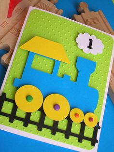 Choo Choo Train Birthday Invitation by DianesPaperParty on Etsy, $26.00