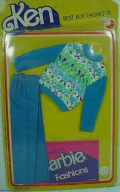 Mattel Ken Best Buy Fashion, Mint On Card, 1977.