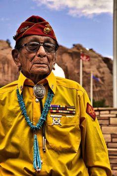 """""""Sam Holiday"""" ~ WWII Veteran & Navajo Code Talker"""