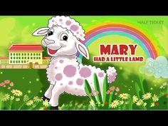 #MaryHadALittleLamb! And he follows her everywhere :-) Isn't he simply cute? # NurseryRhymes #Kids