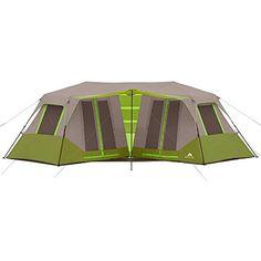Ozark Trail 23 X 116 Instant Double Villa Cabin Tent Sleeps 8 Green    For  More Information, Visit Image Link.
