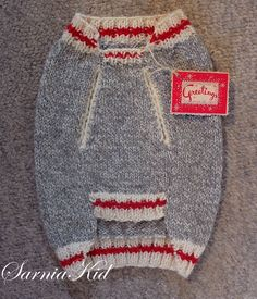Francie's new 'worksock look' Christmas sweater!