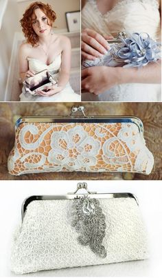 We are giving out a set of 5 lace clutch bags on @Style Me Pretty.  Hurry up before the giveaway ends on Oct 14.