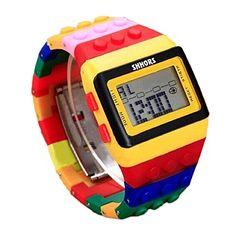 Ularma Sportuhr LED Digital Uhr Wasserdicht Uhr Bunt Alarmuhr Cool Armbanduhr - http://uhr.haus/ularma/ularma-sportuhr-led-digital-uhr-wasserdicht-uhr