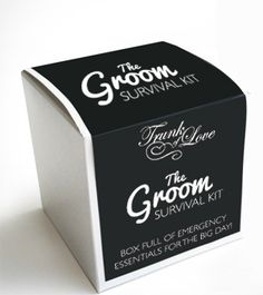 DIY Grooms Survival Kit items: Mints (for those fresh kisses) Socks (to keep cold feet away) A MINI bottle of alcohol (to calm his nerves) Tide to go stain remover (you just never know) Razor and shaving cream Tyle Wedding Bride, Wedding Events, Our Wedding, Dream Wedding, Wedding Favors, Purple Wedding, Wedding Shit, Weddings, Wedding Tips