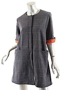 Lisa Perry short dress Grey Windowpane on Tradesy