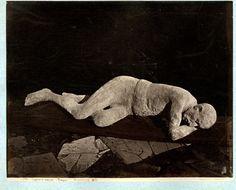 Sommer. Italia, Pompei, impronte umane, scoverta     #Europe #Italia #Pompéi_Pompei