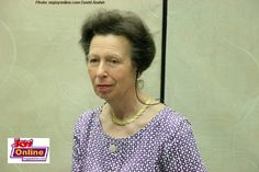 Princess Anne, daughter of Her Royal Highness , Queen Elizabeth II on Tuesday  April 4,2017 arrived in Ghana to start her two-day West African tour.