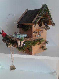 Fairy home, made by PeejBeej.  Elfenhuisje gemaakt door PeejBeej.