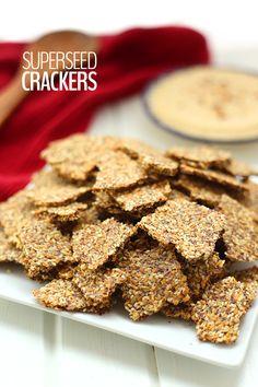 Superseed Crackers- gluten-free, grain-free
