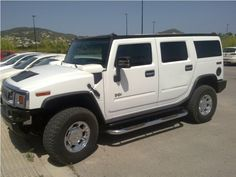 New Car Avalaible in Barcelona:  Hummer H2  Colour white