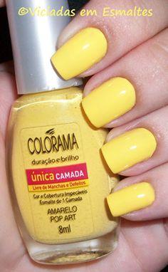 Amarelo Pop Art