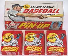 1967 Topps Baseball wax box and packs