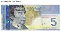 hahahahahaha XD yes... only Canadians do this if they're Star Trek fans XD @Autumn Peters