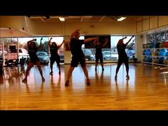 ▶ I really like this routine! Gives a good workout, especially if you're stressed out bout sumthing. Crank it like a chainsaw ZUMBA hip hop - YouTube