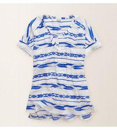 Night Drizzle Aerie Printed Tunic -  Pretty cozy for fun in the sun! #Aerie