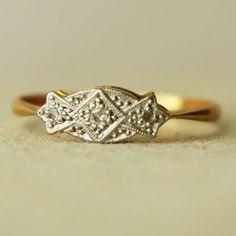 40 anillos de boda retro para morirse