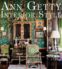 "Her work has been published in  ""Ann Getty Interior Style"" by Diane Dorrans Saeks. Description from thestylesaloniste.com. I searched for this on bing.com/images"