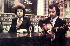 Enrique Morente y Pepe Habichuela.
