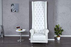 ROYAL CHAIR fehér szék  #lakberendezés #lakberendezes #otthon #otthondekor #homedecor #furnishings #design #ideas #furnishingideas #housedesign #classicdecor #livingroomideas #livingroomdecorations Ventura Design, Royal Chair, Neck Designs For Suits, Rattan Basket, House Goals, Route 66, Living Room Furniture, Accent Chairs, Armchair