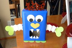 monster box for valentine's day   the fun valentine s box i made with my son