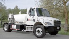 Portable Restroom Truck - Maple Leaf Disposal
