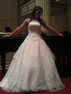 Monique Luo Cq110 Used Wedding Dresseswedding