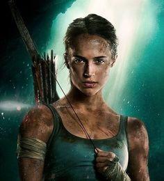 Tomb Raider Alicia Vikander, Alicia Vikander Lara Croft, Tomb Raider Movie, Tomb Raider 2018, Disfraz Tomb Raider, Tom Raider, Laura Croft, Live Action, Tribal Warrior