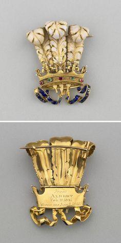 Queen Victoria's Prince of Wales Brooch.
