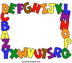 (for ABC group) cover page? Charlotte's Clips and Kindergarten Kids Fun Freebie Printable. Beginning Of School, Pre School, Classroom Activities, Classroom Organization, Alphabet Phonics, School Clipart, Borders For Paper, Painting For Kids, Teaching Tools