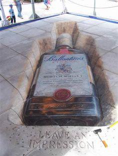 Ballantines - leave an impression...