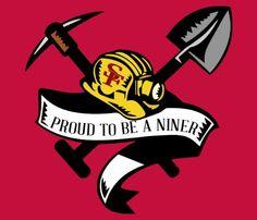 Proud Niner Fan