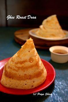 ghee roast Dosa recipe