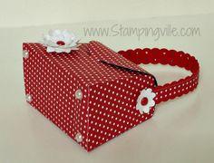 Stampingville: Pretty Paper Petite Purses